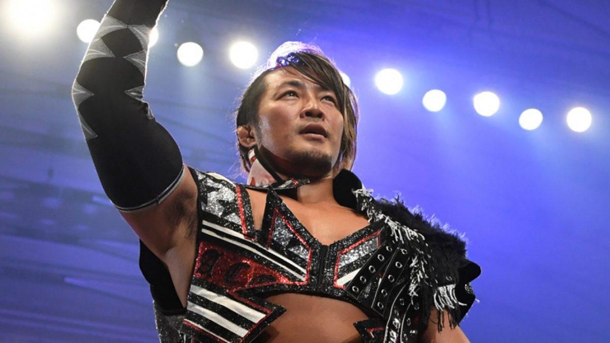 Hiroshi Tanahashi faz aparição no AEW Fight For The Fallen