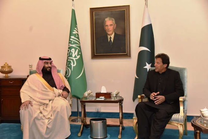 Saudi crown prince signs $20 billion in agreements with Pakistan