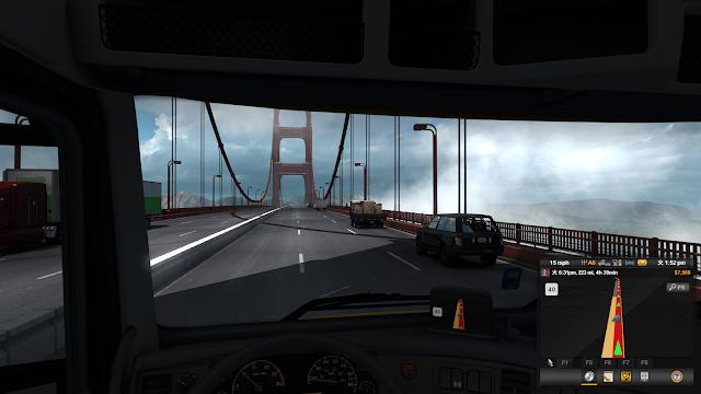 American Truck Simulatorプレイ画面スクショ3