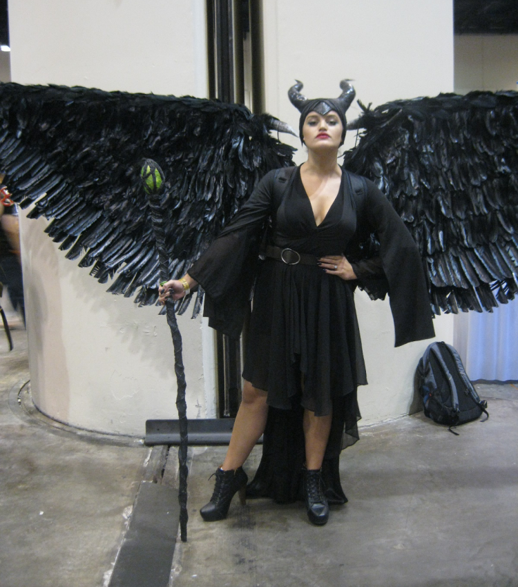 Maleficent Cosplay MegaCon Orlando 2018