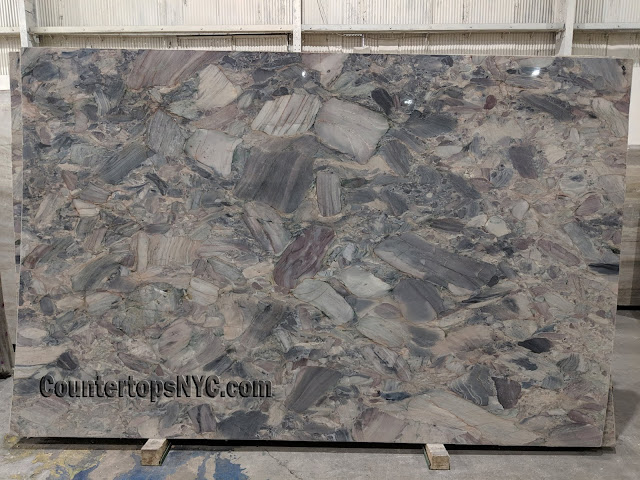 Paris Polished Marble Slab NYC