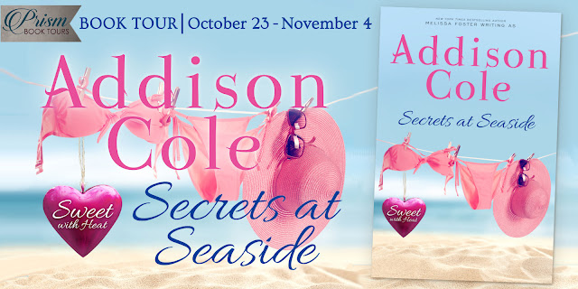 We're launching the Book Tour for SECRETS AT SEASIDE by ADDISON COLE!