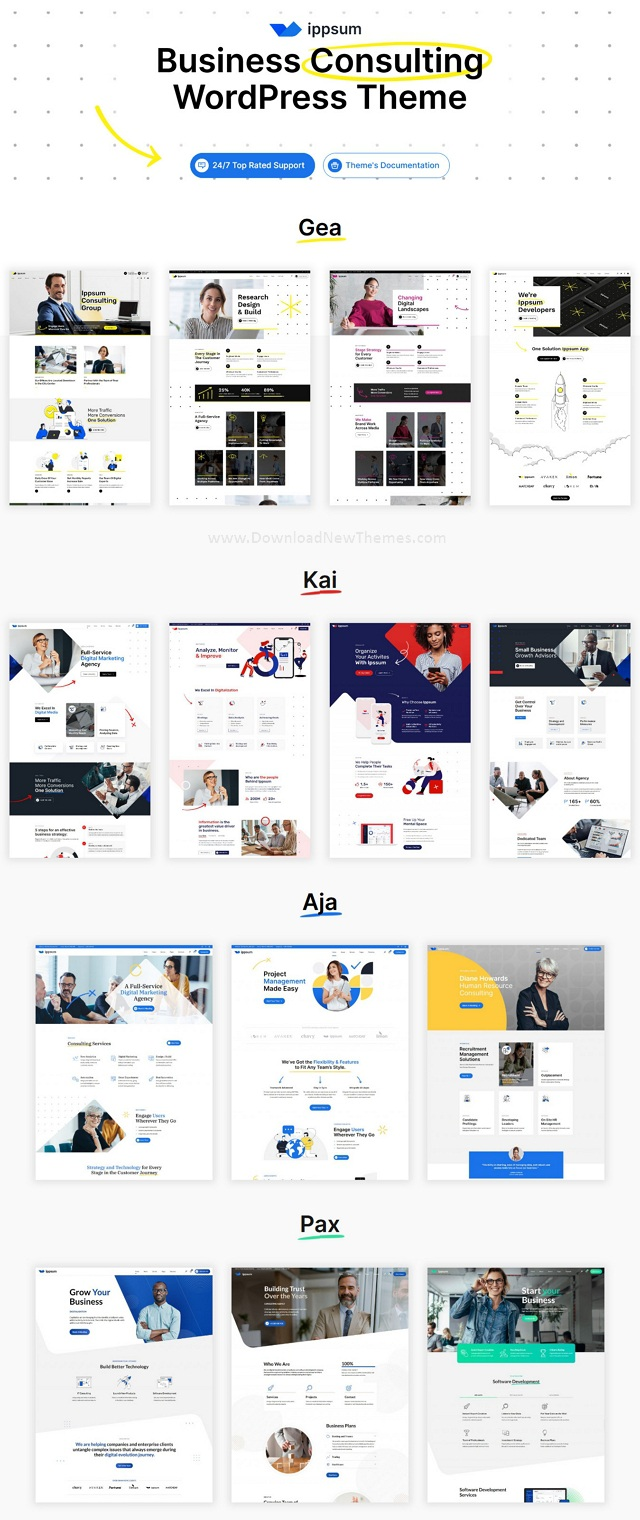 Business Consulting Multipurpose WordPress Theme