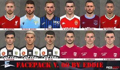 PES 2017 Facepack v60 by Eddie