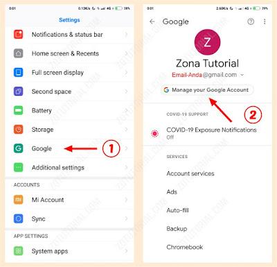 Cara Ganti Password Gmail di HP Android terbaru