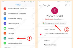 Cara Ganti Password Gmail di HP Android (Akun Google)