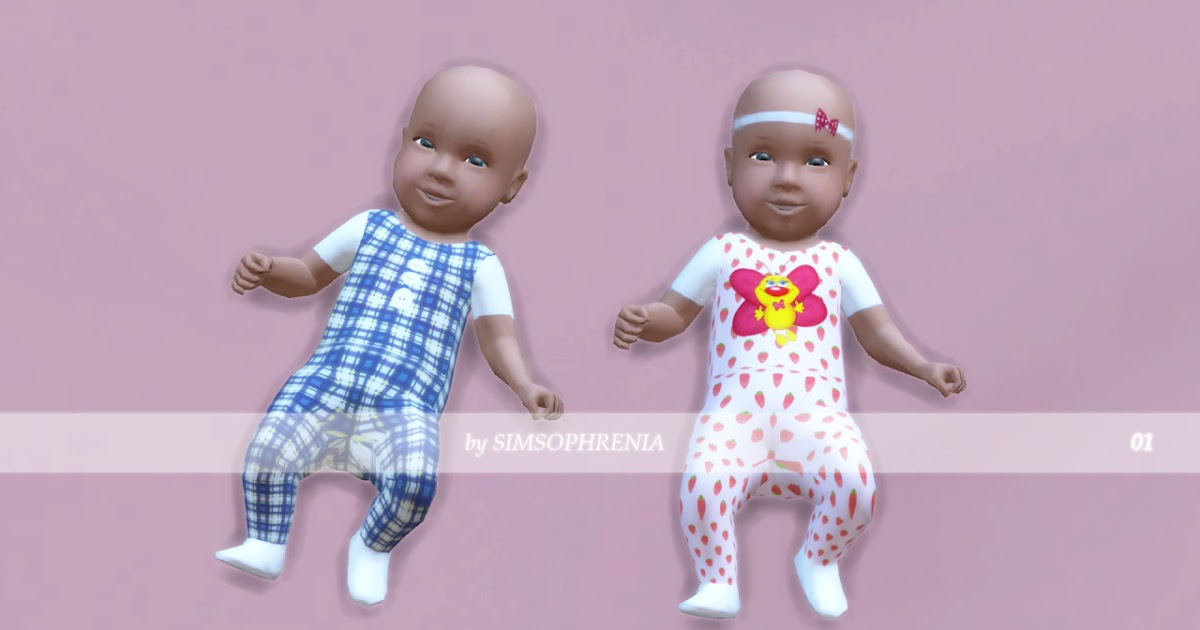 My Sims 4 Blog Cute Baby Clothes By Simsophrenia
