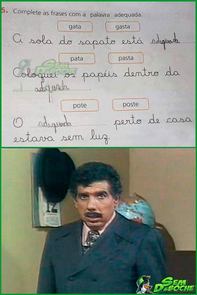 A DURA TAREFA DE SER PROFESSOR