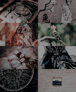the empress of salt and fortune moodboard