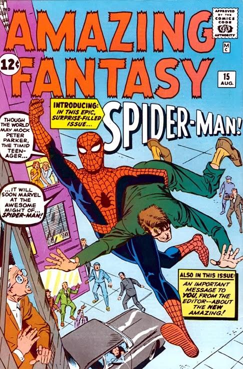 Amazing Fantasy Nº15 ¿en Qué Personajes Se Basaron Para