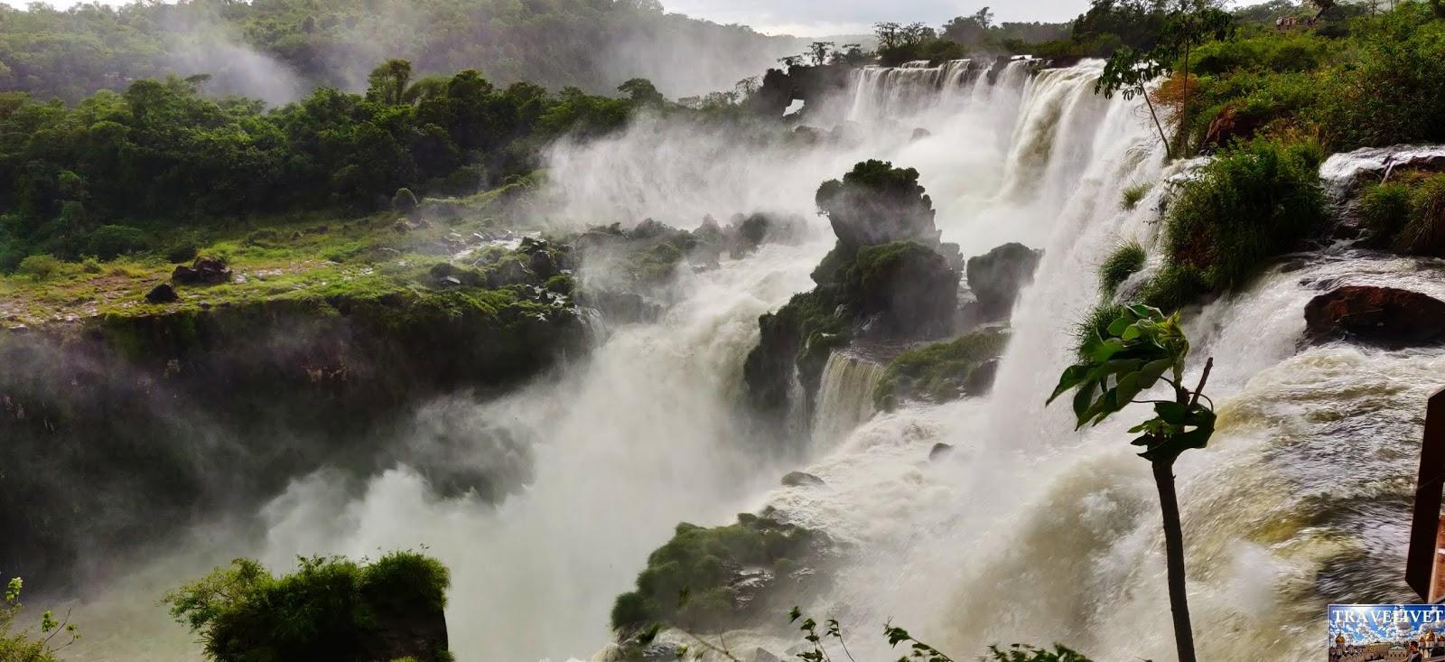 Les chutes d'iguazu Argentine