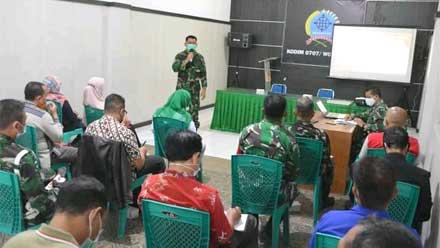 Rakor Pembukaan TMMD Sengkuyung Tahap III 2021