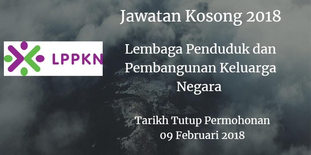 Jawatan Kosong LPPKN 09 Februari 2018