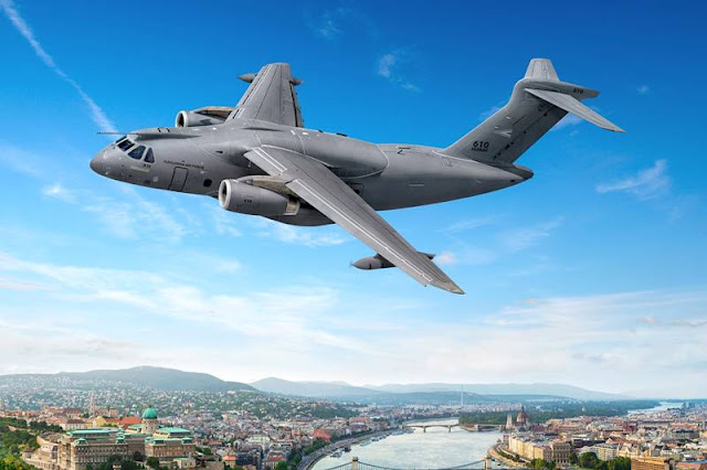Hungary signs contract Embraer KC390