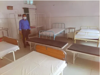 जालौन: कोरोना संक्रमित बच्चों का महिला अस्पताल में रखा जाएगा खास ख्याल, संक्रमित मां व बच्चे के लिए अस्पताल में वार्ड किए गए आरक्षित