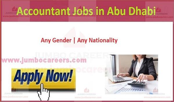 UAE latest accountant job vacancies,