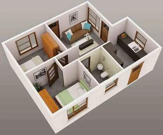 Tips Memilih Gambar Rumah Minimalis Terbaru - Desain rumah minimalis type 36