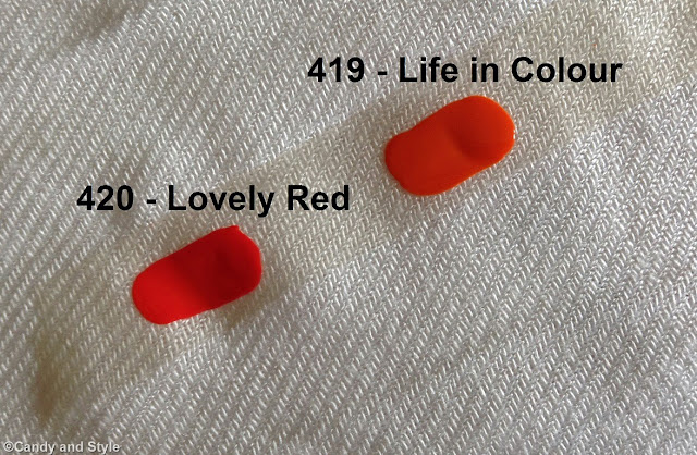 TNS Cosmetics Accent Manicure Capsule Collection - Lovely Red | Life in Colour