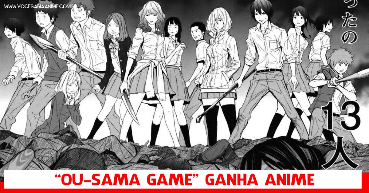 Novel de Horror Jogo do Rei ganha anime