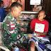 Satgas Pamtas RI-RDTL Yonif Raider 408/SBH Memberikan Pelayanan Kesehatan Di Saat Libur Lebaran