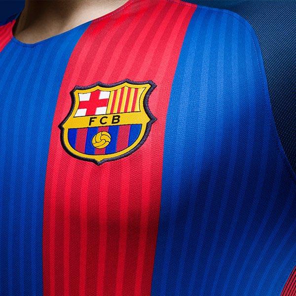 Barcelona 16-17 Home Kit Released - Footy Headlines 124e289b9