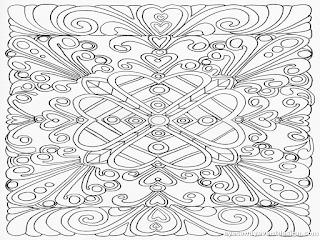Ausmalbilder Muster Schwer