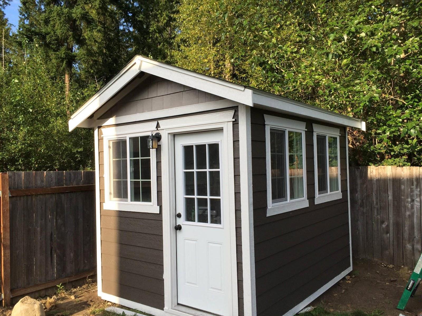 World Of Technology: Backyard Home Office Build (43 Pics)