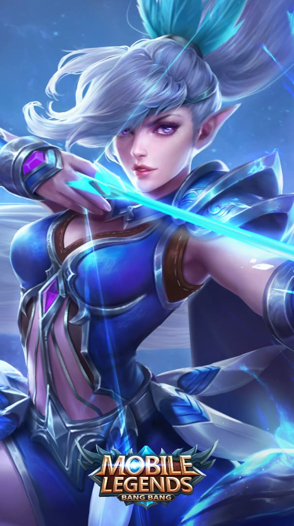 Wallpaper Miya Moonlight Archer Skin Mobile Legends HD for Android and iOS