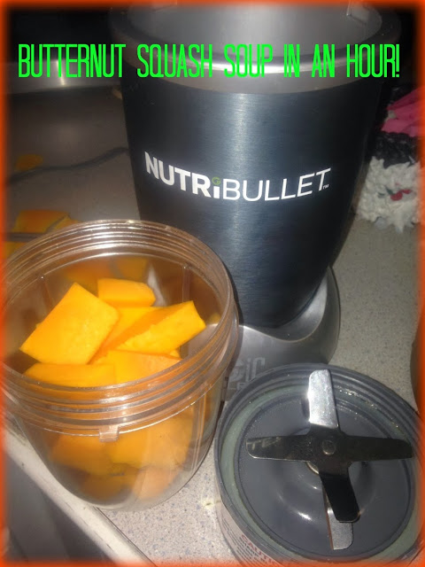 Butternut Squash Soup recipe, Juicer Needed