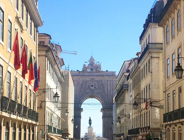 Arco Da Rua Augusta in Lisbon
