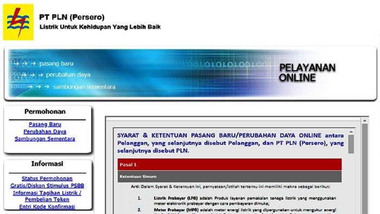 Token Listrik Gratis Login di pln.co.id - WhatsApp 08122-123-123, Susah Masuk dan Belum Direspon