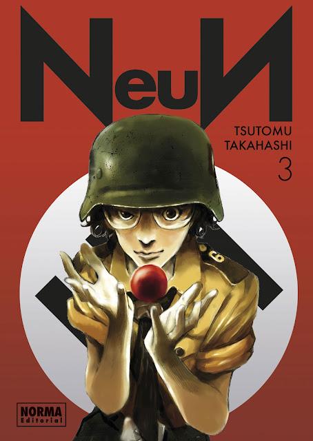 Review de NeuN vol. 3 de Tsutomu Takahashi - Norma Editorial