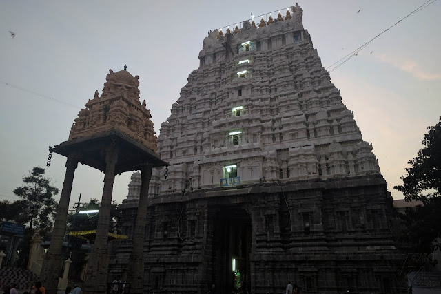Main entrance gopuram of Varadharaja Perumal Temple