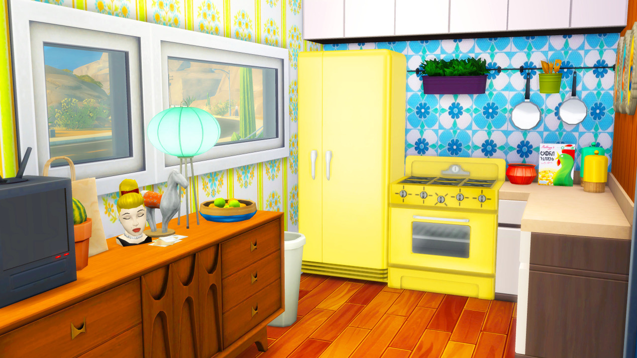 Sims 4 CC\'s - The Best: Retro Caravan by PLENTY OF PLUMBOBS