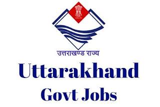 Govt of Uttarakhand jobs,latest govt jobs,govt jobs,Faculty jobs