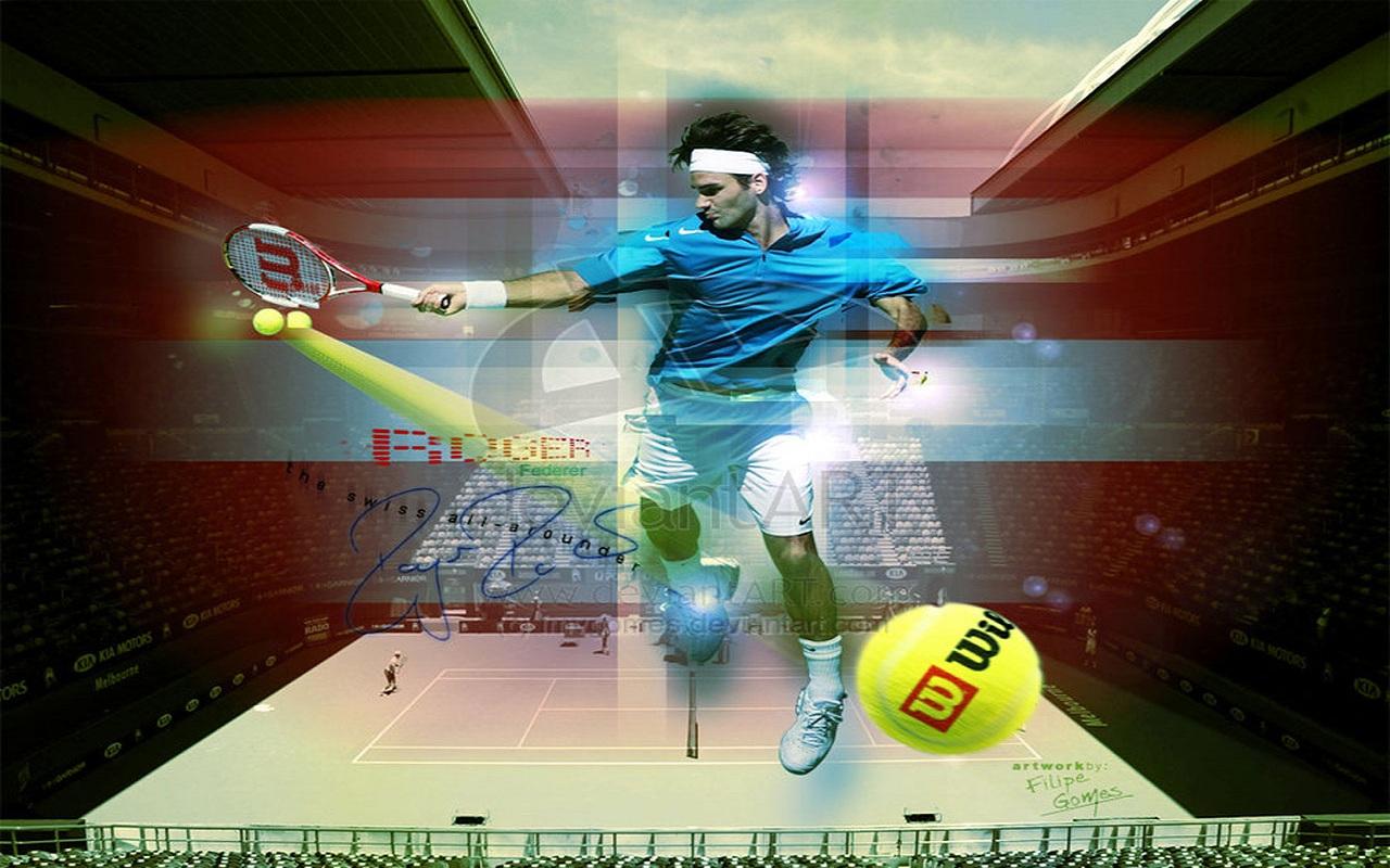 1280x800 wallpaper pack: Roger Federer Wallpaper Pack 1 (1280x800)
