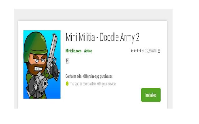 Mini-militia - Doodle Army