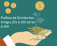 Não distribuição de dividendos