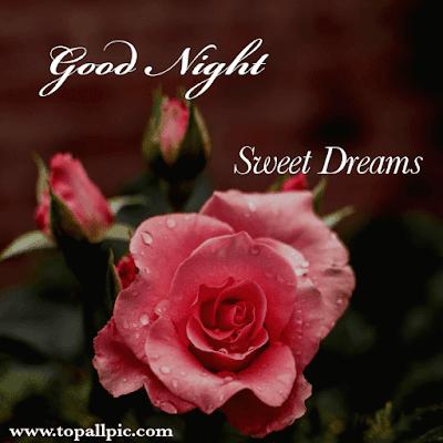 good night sweet dream with love photo