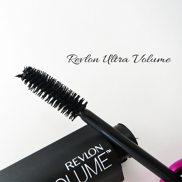 Close-up of the brush on Revlon Ultra Volume Mascara