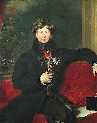 Portrait of George IV by Sir Thomas Lawrence, 1822