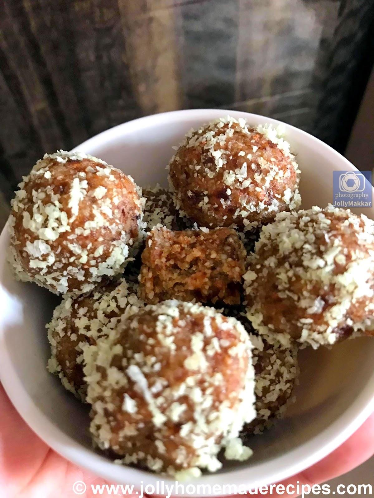 date almond coconut balls