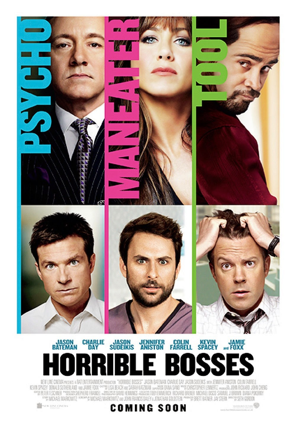 A Film A Day: Horrible Bosses (2011)