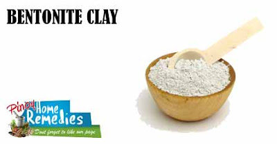 Home Remedies To Get Rid Of Chest Acne: Bentonite Clay