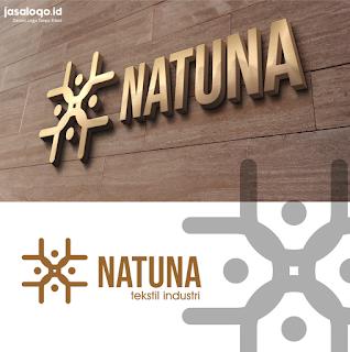 Logo Tekstik Industri -  Natuna