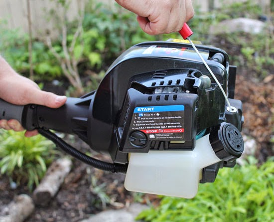 The Rainforest Garden: Troy-Bilt TB6044 XP Review and Giveaway