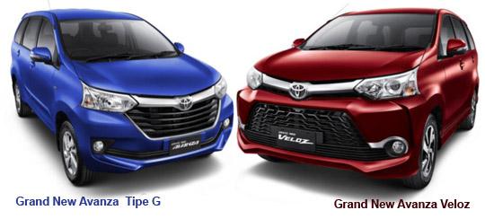 Spesifikasi Grand New Avanza Veloz Harga Mobil All Kijang Innova 2017 Toyota 2015 Promo Dealer Baru