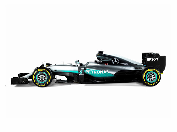 2016 F1 Wallpaper Mercedes AMG Petronas W07