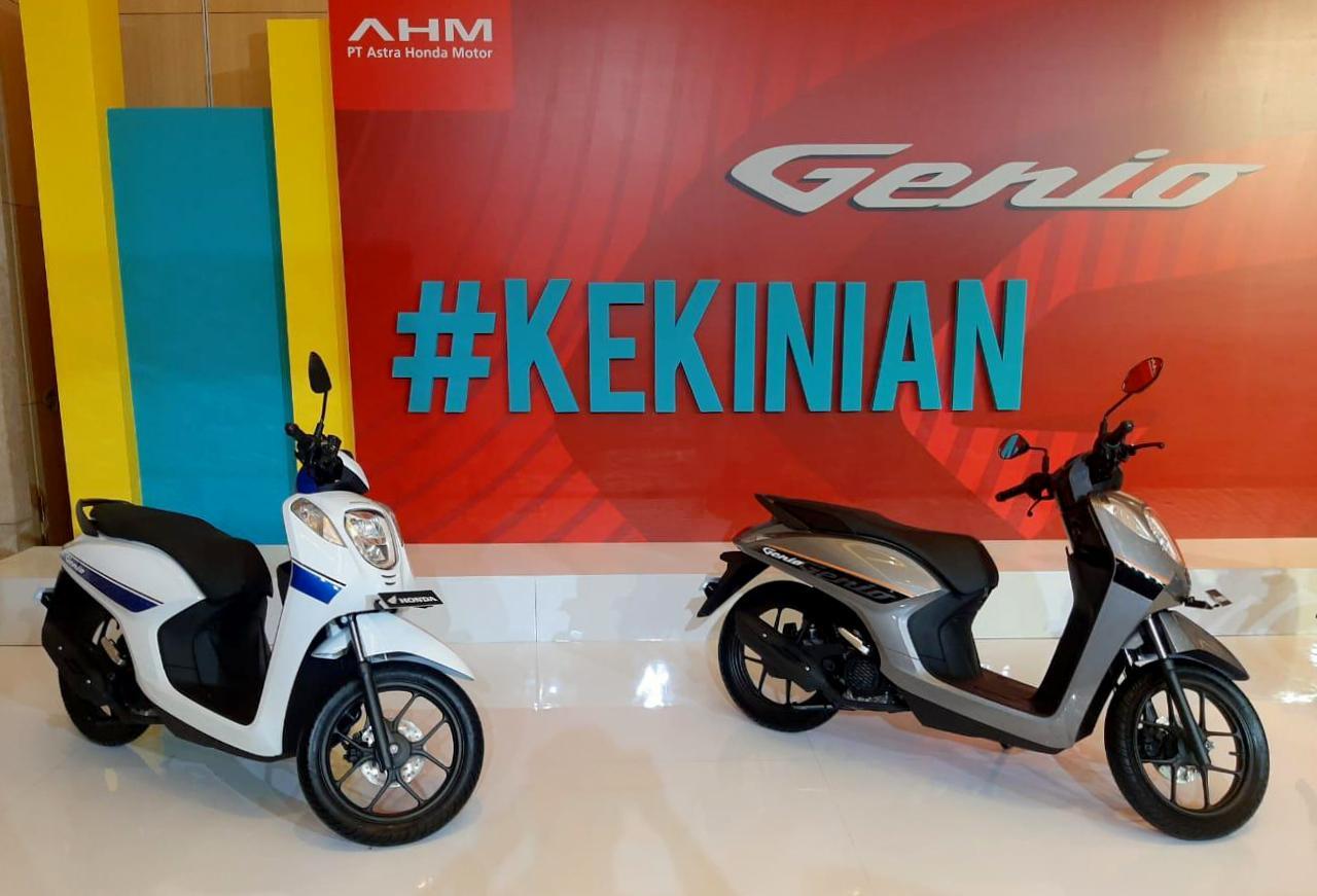 AHM resmi merilis Honda Genio 110, skutik keren ala anak muda !