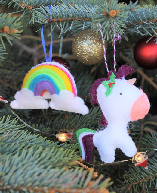 unicorn ornament diy